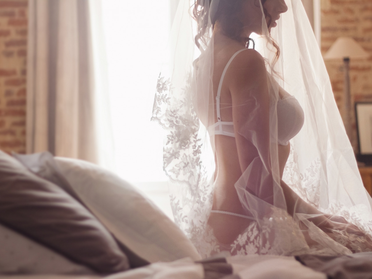 Порно невесты