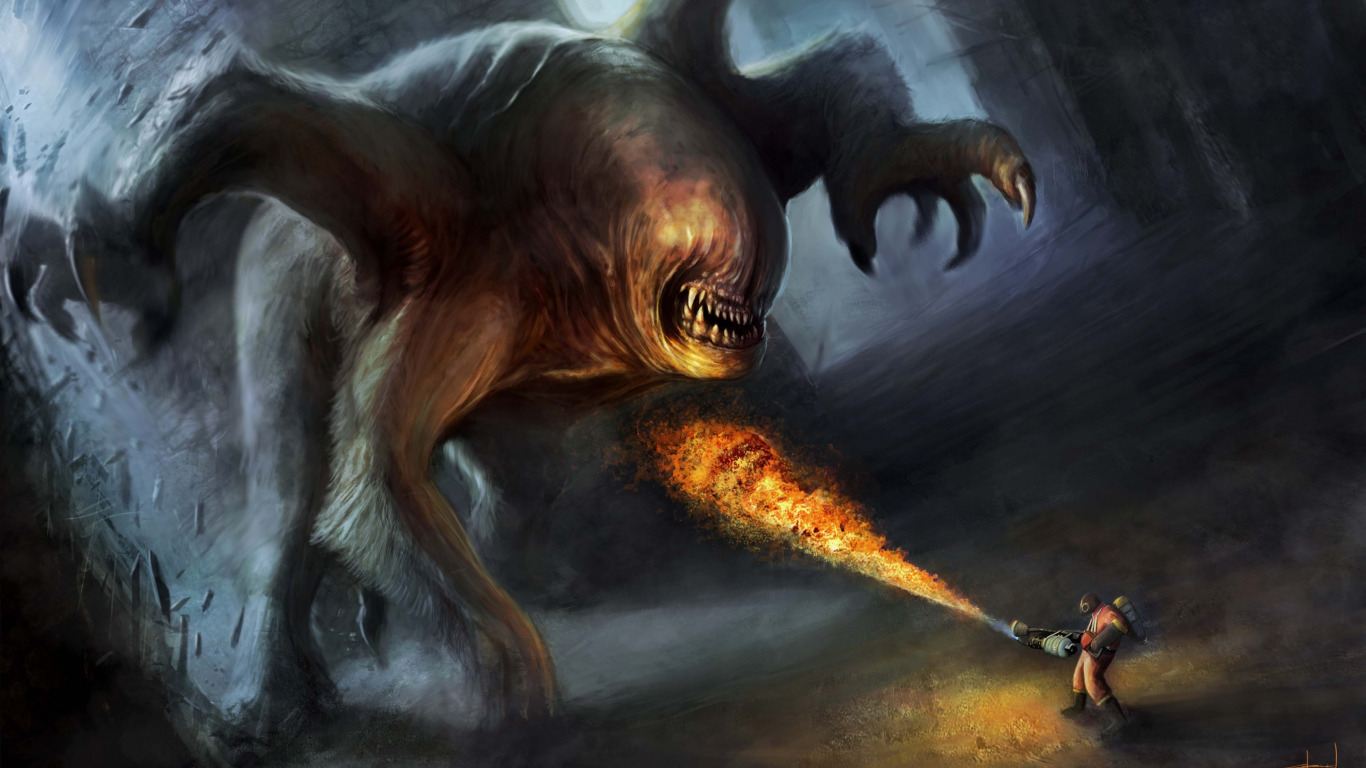 Убийство чудовища  № 1650449 загрузить