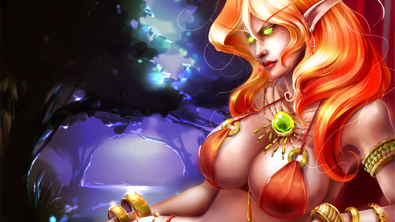 Warcraft girl blood elf and girl orc  fucked galleries