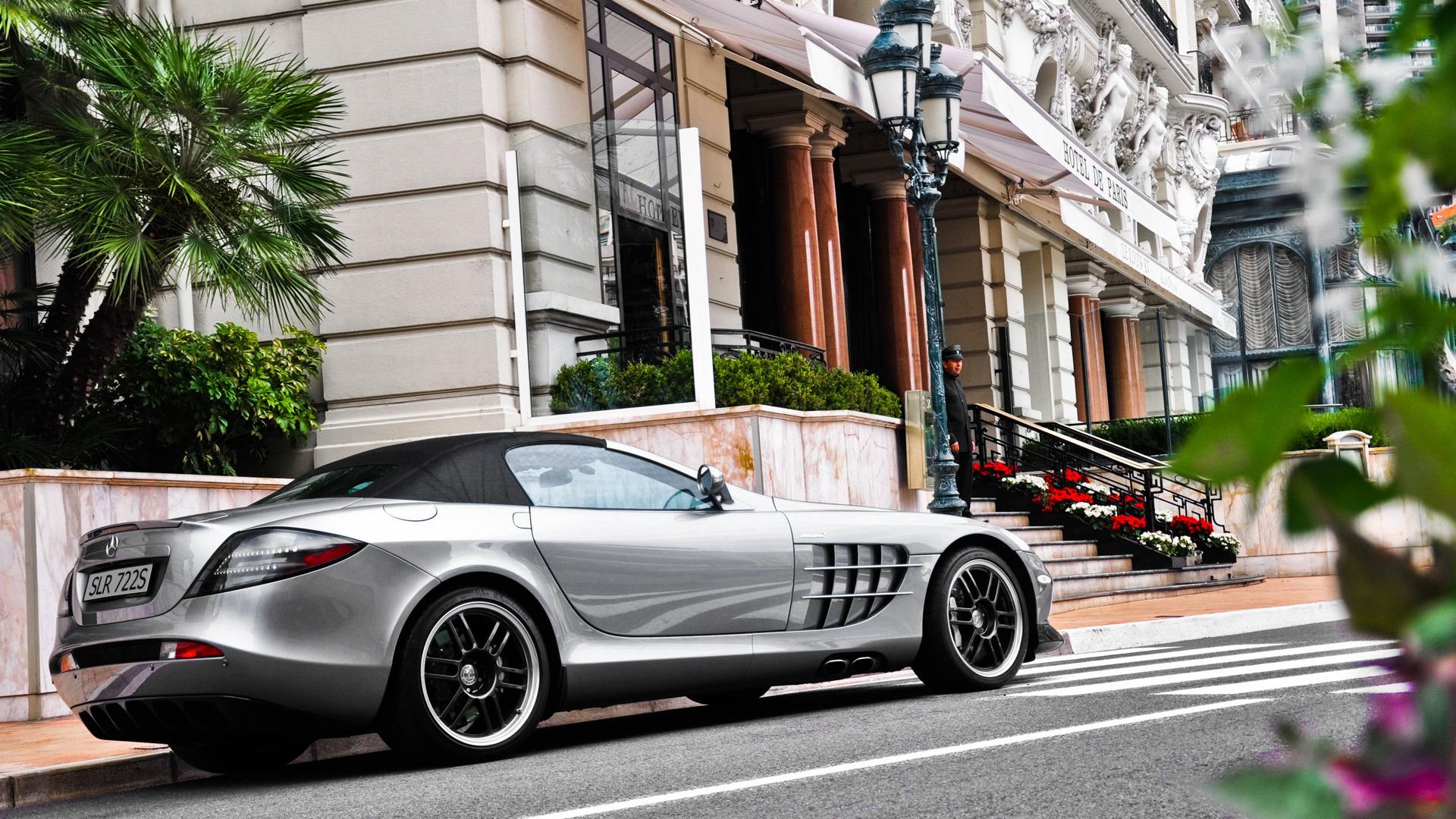 Mercedes SLR  № 1374452 загрузить
