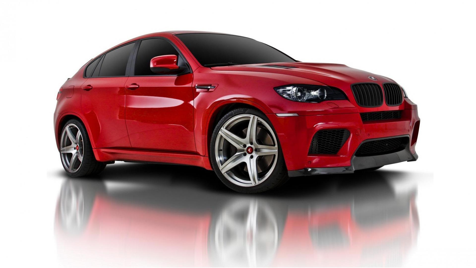 красный автомобиль bmw x6 red car  № 318904 без смс