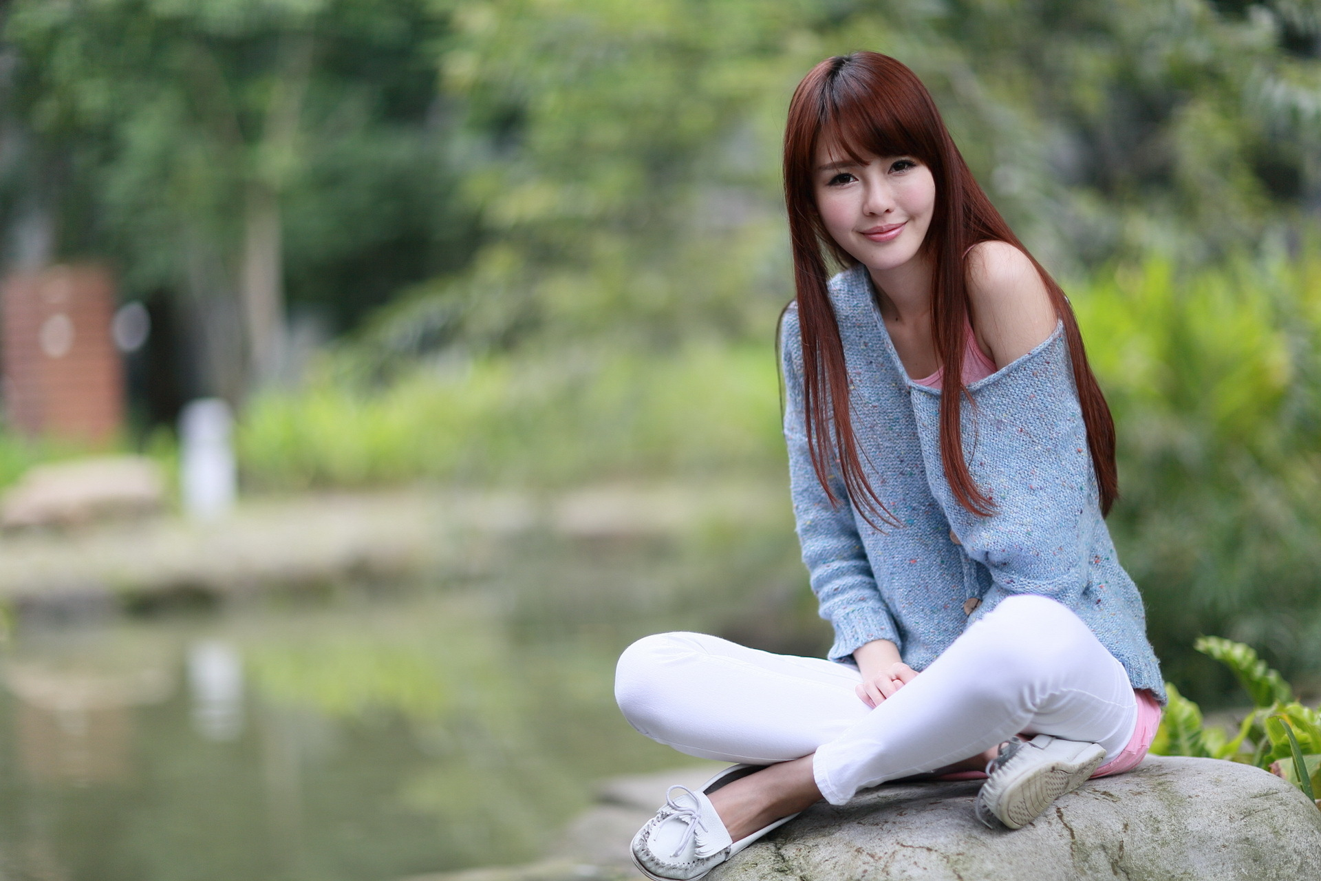 Outdoor girl asian femdom drunk