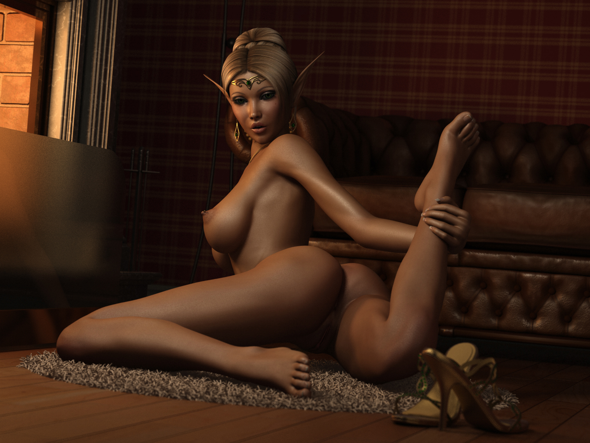 Wallpaper demon nude 3d hentay scene