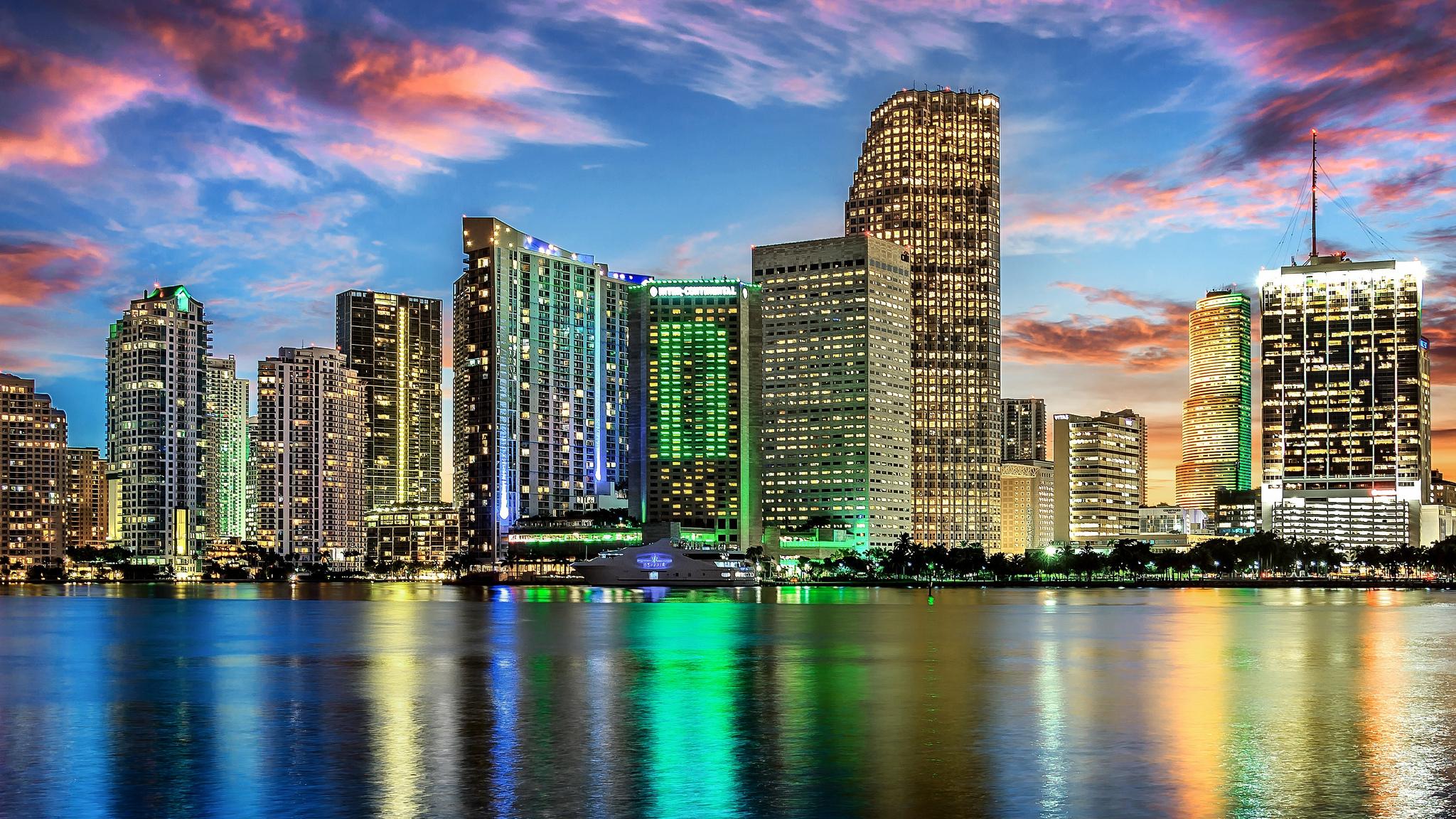 Майами США страны архитектура пляж  № 2229388 бесплатно