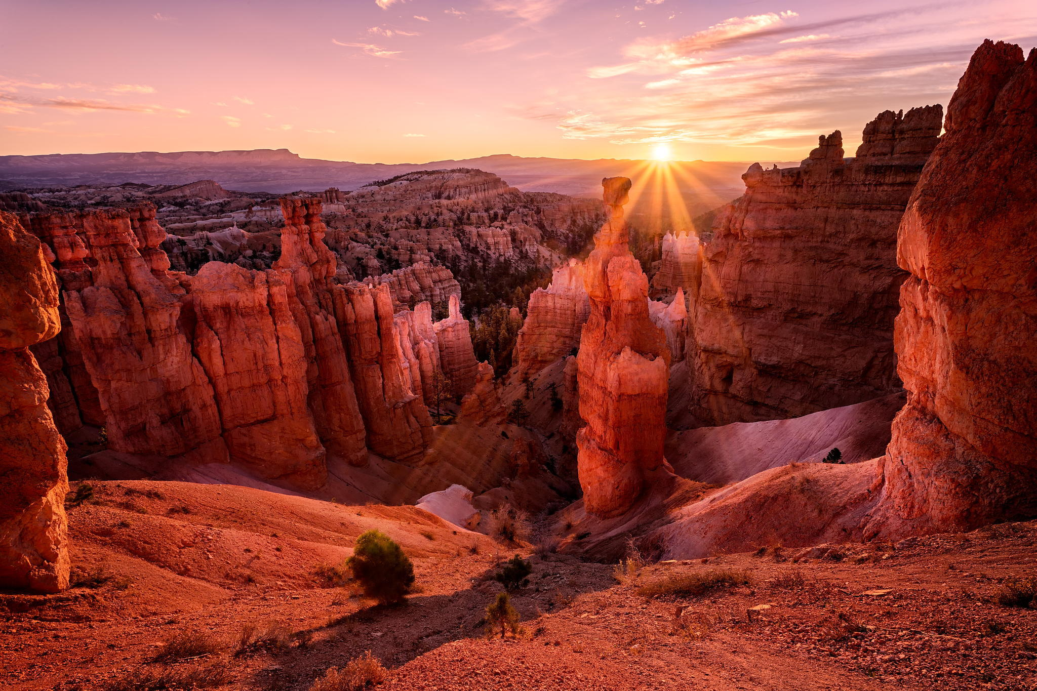 Закат над каньоном  № 241398 без смс