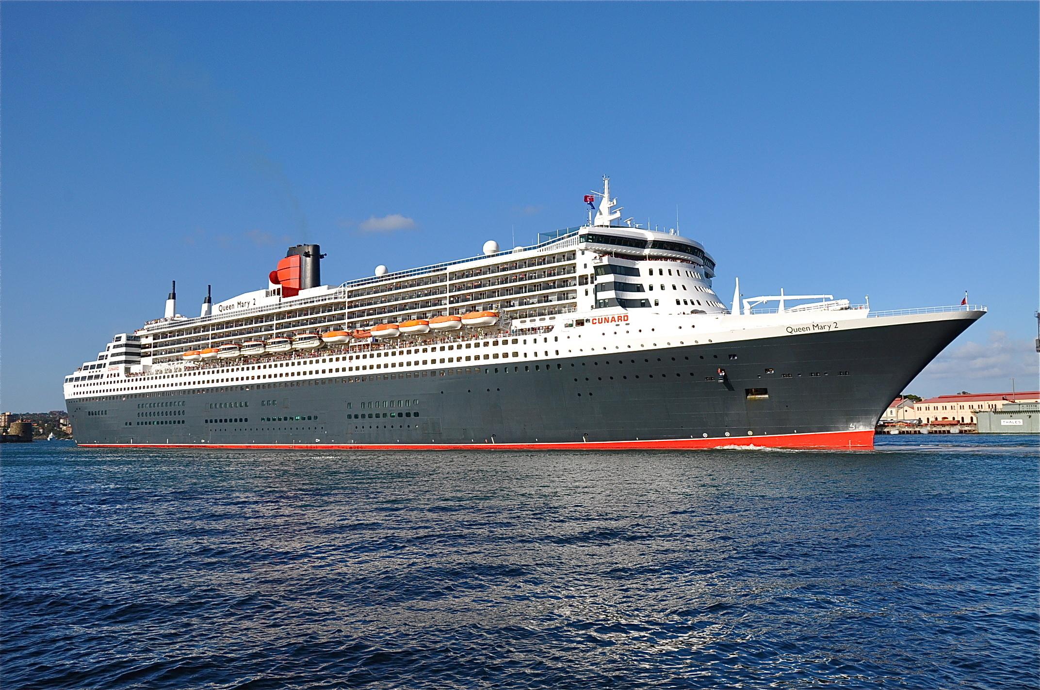 Корабль Queen Mary 2  № 3495236  скачать