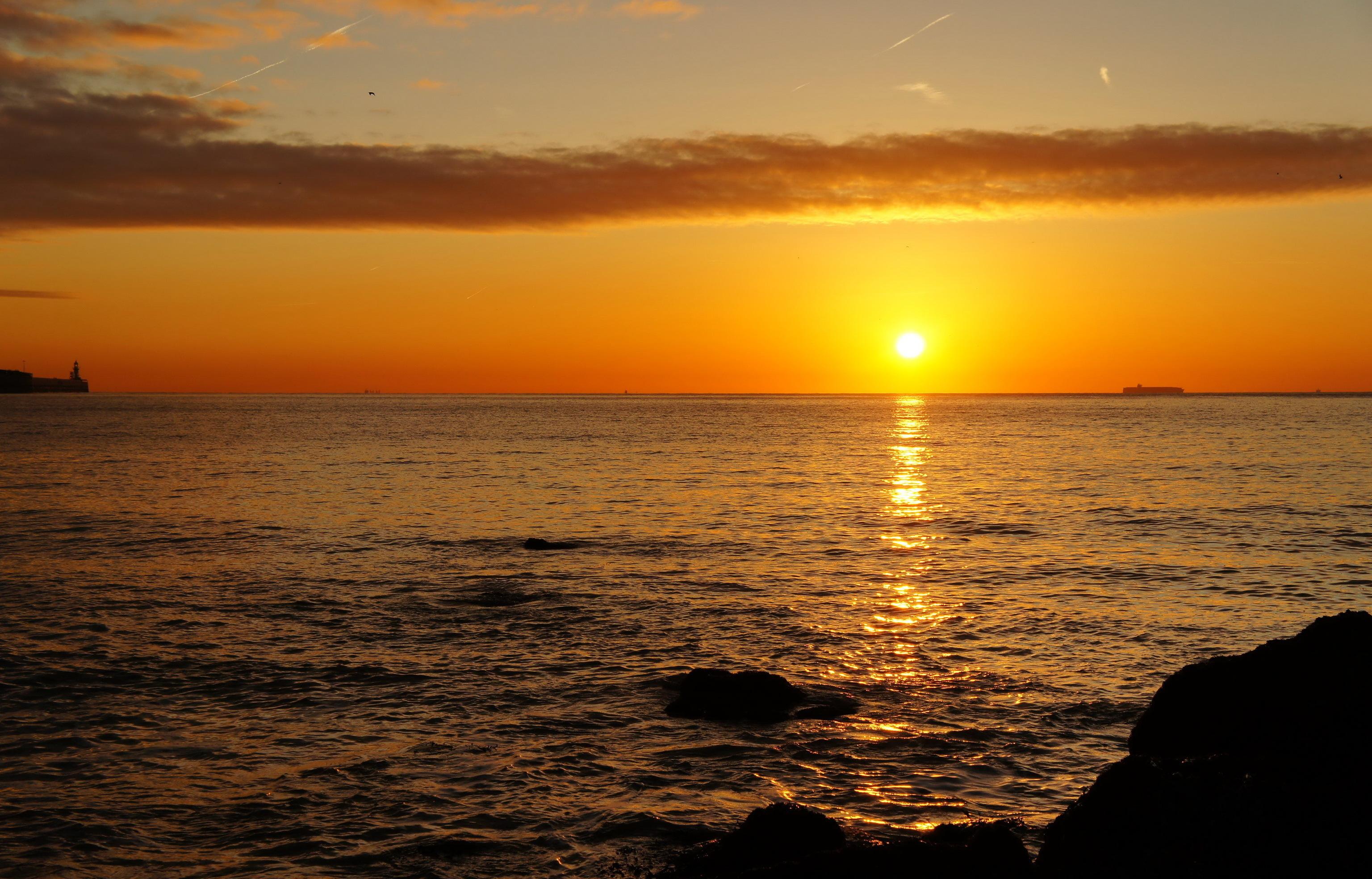 морские восходы и закаты фото очень хороший красивый