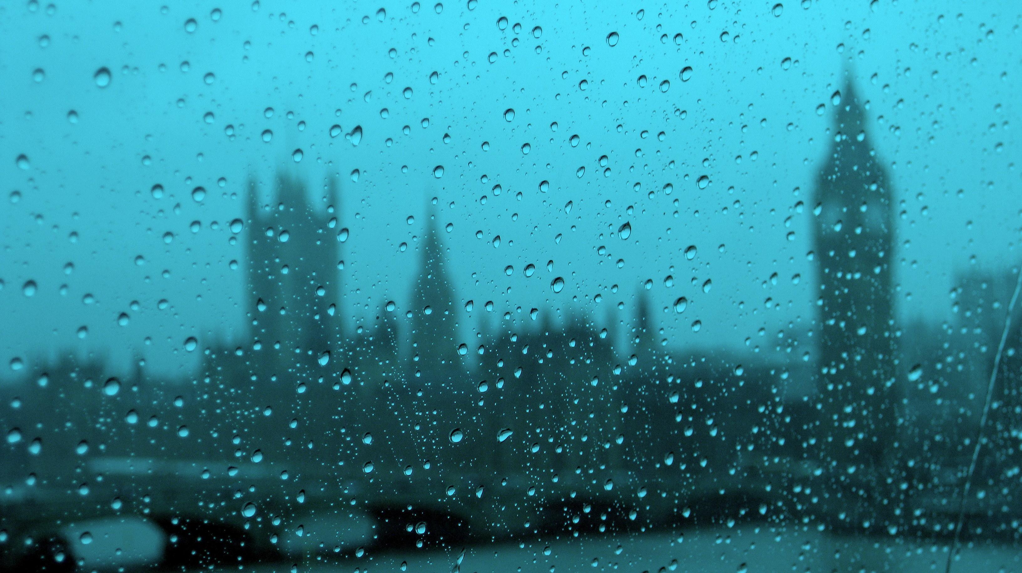 На рабочий стол обои капли дождя