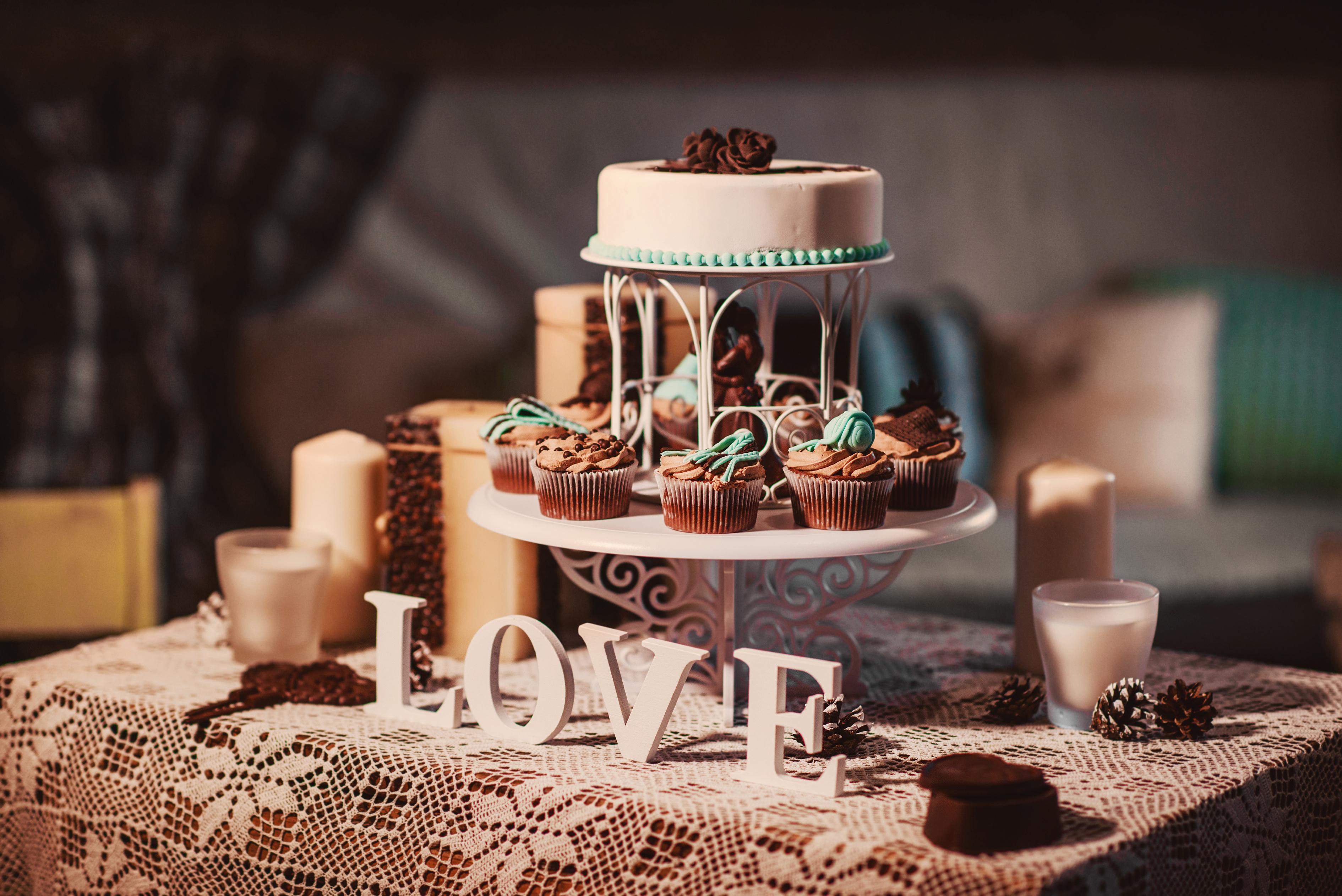 Свадебный торт  № 1408242 без смс