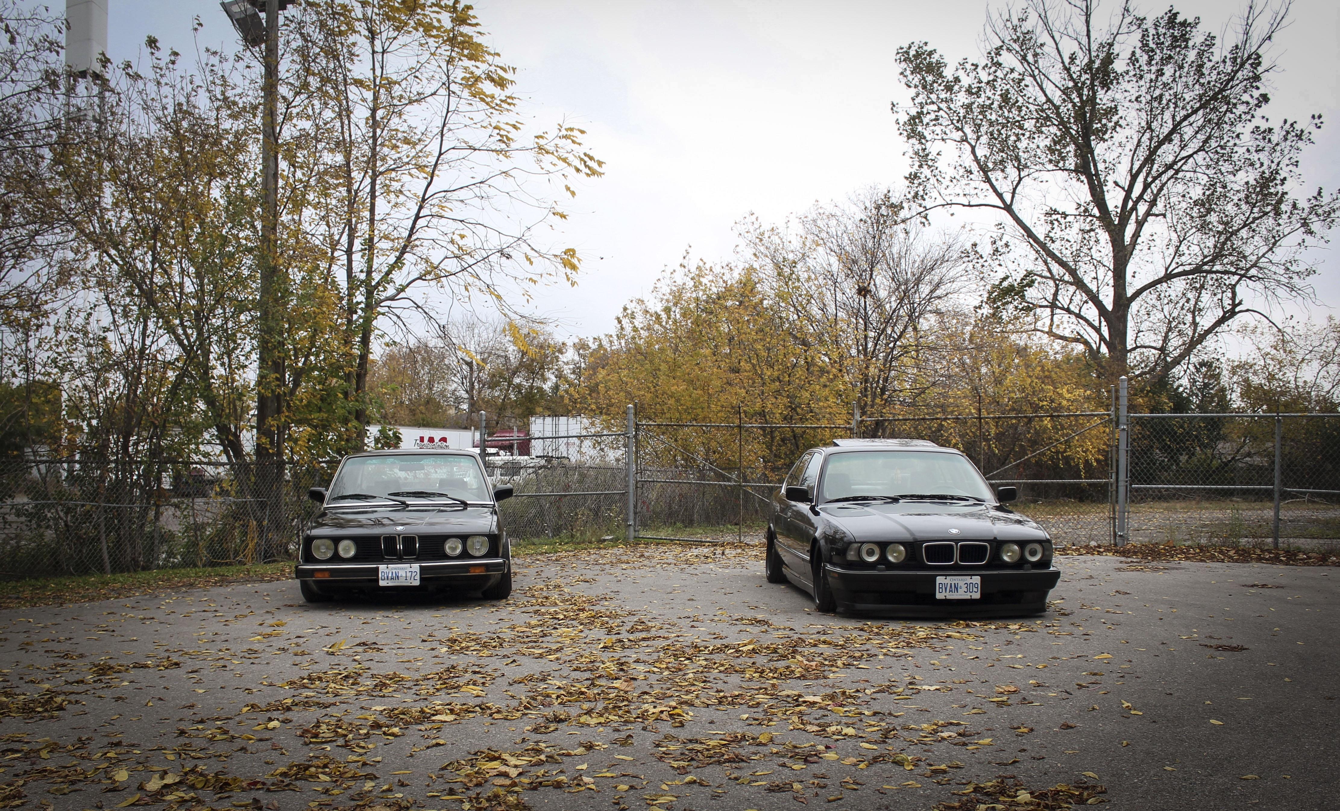 Обои bmw e34 1920x1080 - 8