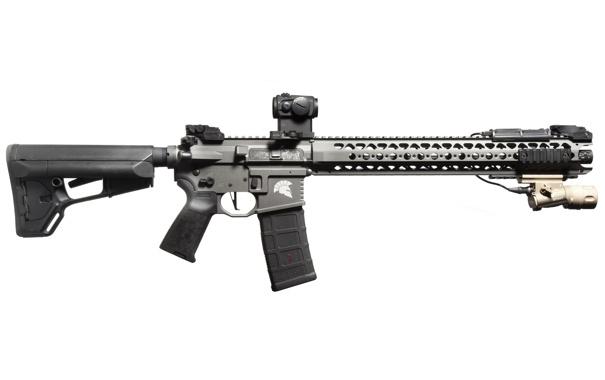 Фото обои оружие, фон, карабин, штурмовая винтовка