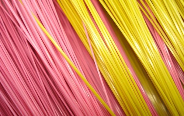 Фото обои провода, нити, цвет