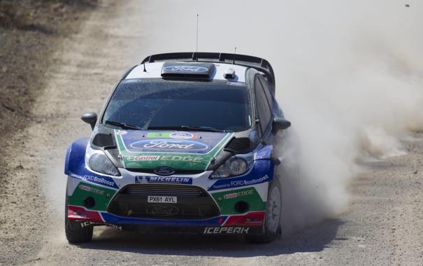 Фото обои Ford, Спорт, Машина, Мексика, Форд, Гонка, WRC
