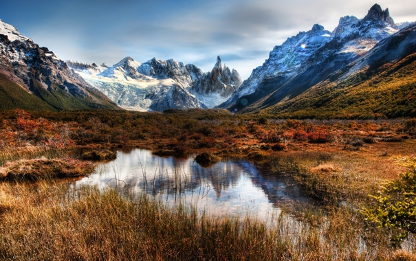 Фото обои горы, Argentina, снег, Аргентина