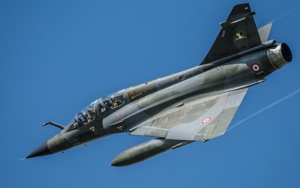 Фото обои истребитель, многоцелевой, «Мираж», Mirage 2000N