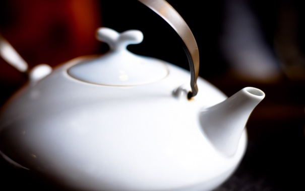 Фото обои чай, чайник, заварник, керамика