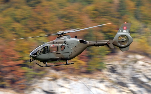 Фото обои авиация, вертолёт, Eurocopter EC635