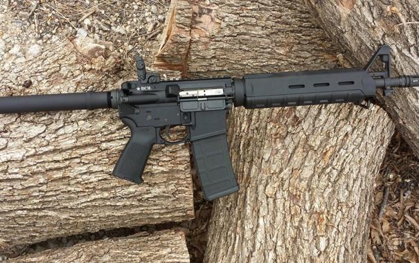 Фото обои оружие, версия, карабина, Пистолетная