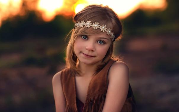 Фото обои улыбка, девочка, прелесть, Lorna Oxenham