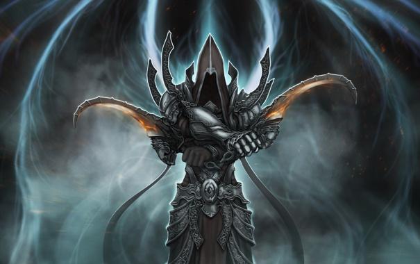 Фото обои angel, diablo 3, Diablo III: Reaper of Souls, malthael
