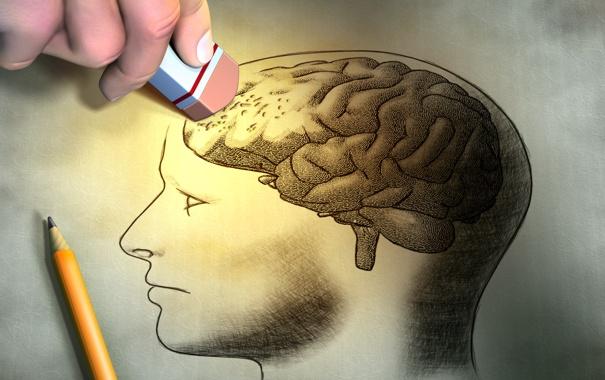 Фото обои paper, drawing, eraser, brainwashing