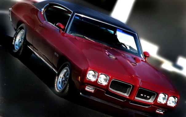 Фото обои coupe, 1970, pontiac, gto