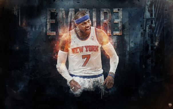 Фото обои Спорт, Баскетбол, Нью Йорк, New York, NBA, Никс, Knicks