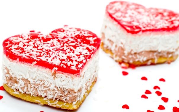 Фото обои heart, пирожное, еда, cheesecake, любовь, чизкейк, love