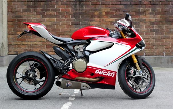 Фото обои белый, красный, зеленый, мотоцикл, red, white, суперспорт