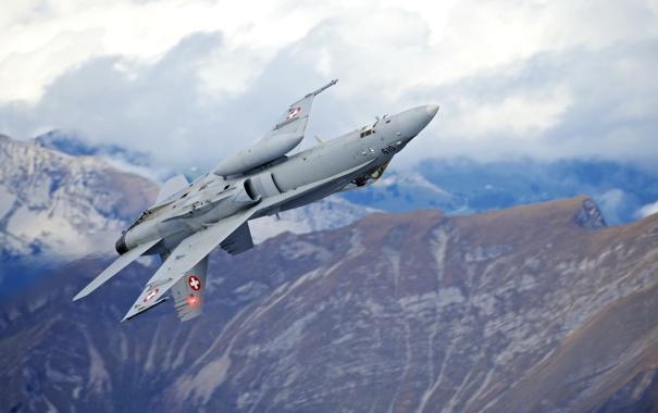 Фото обои оружие, самолёт, F18