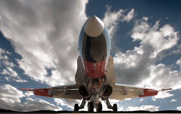 Фото обои самолёт, аэродром, China Lake F A-18A