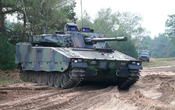 Фото обои машина, боевая, пехоты, CV-9035NL