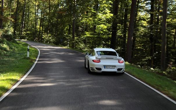 Фото обои дорога, фото, обои, скорость, 911, Porsche, cars