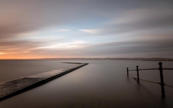 Фото обои longexposure, Wirral, peninsular, WestKirby, Merseyside, marinelake