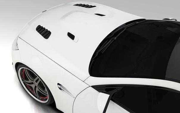 Фото обои машины, тюнинг, белая, white, cars, Vorsteiner, tuning