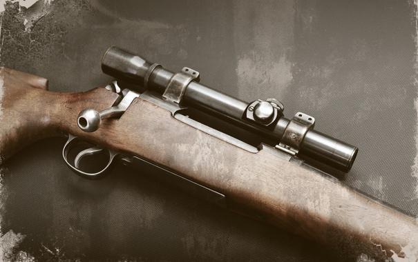 Фото обои оружие, фон, винтовка, снайперская, Lee-Enfield, Ли-Энфилд
