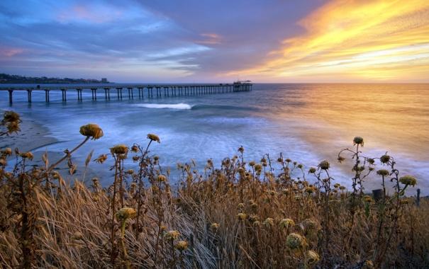 Фото обои California, San Diego, La Jolla Shores