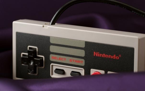 Фото обои кнопки, джойстик, Nintendo