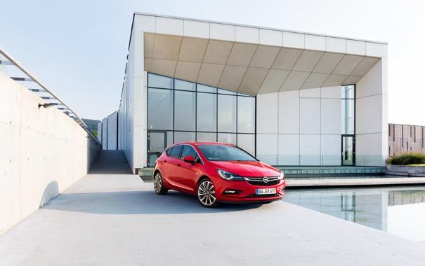 Фото обои Opel, астра, опель, 2015, Astra K