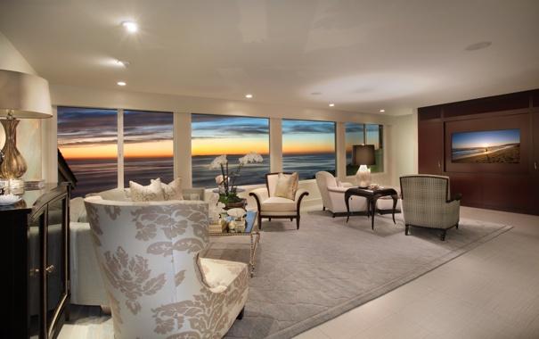 Фото обои дизайн, вилла, жилая комната, дом, интерьер, стиль
