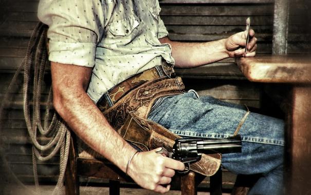 Фото обои карты, игра, ситуация, револвер