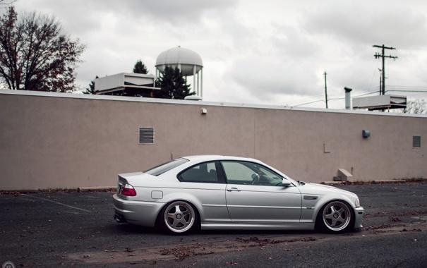 Фото обои BMW, E46, stance works