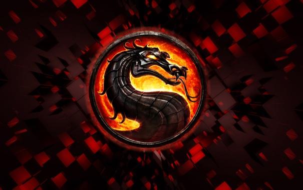Фото обои эмблема, смертельная битва, Mortal combat