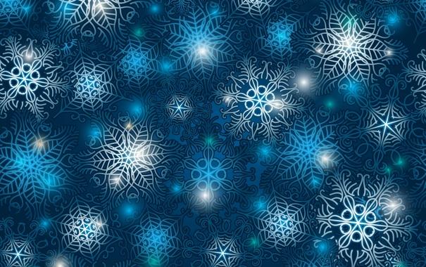 Фото обои снежинки, узоры, точки, переплетение
