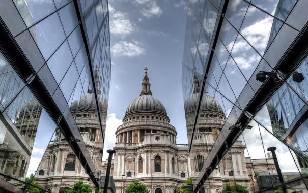 Фото обои город, здания, архитектура