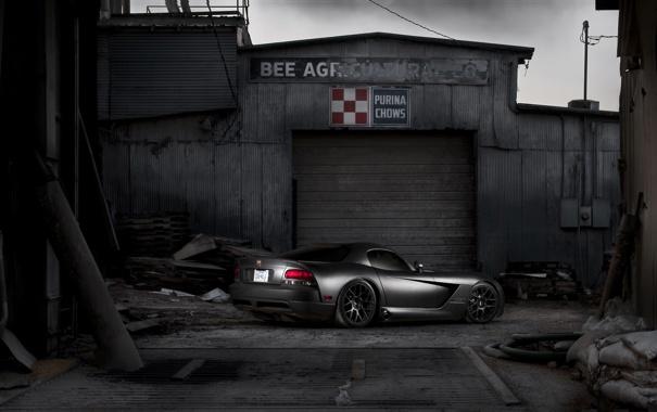 Фото обои Dodge, Viper, блек