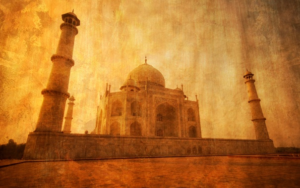 Фото обои Индия, тадж-махал, Акра