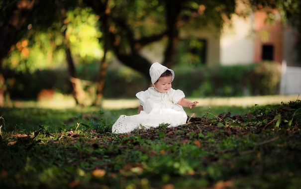 Фото обои фон, девочка, ребёнок