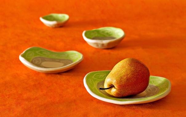 Фото обои цвета, макро, фон, еда, оранжевая, зеленые, фрукт