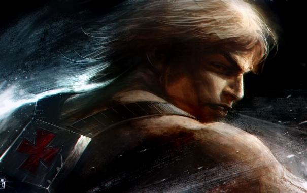 Фото обои герой, блондин, Masters of the Universe, HE- MAN